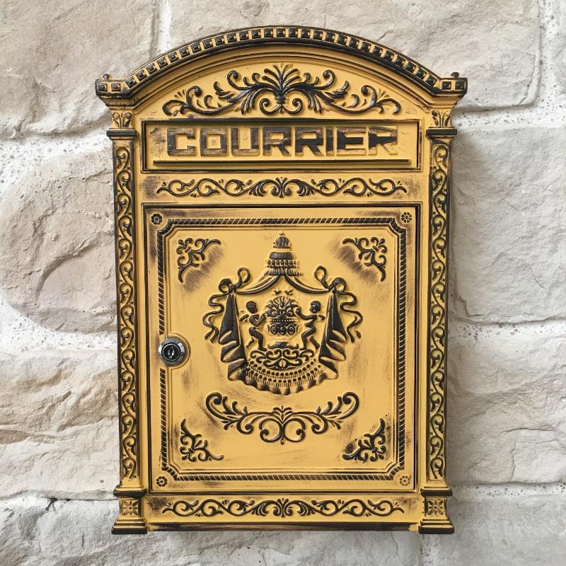 image boîte aux lettres fonte - icone délais livraison