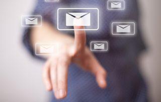 image lettre en ligne - icone article